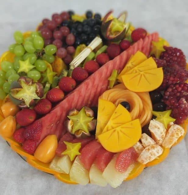 מגש פירות עגול | מידה: L 5