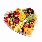 מגש פירות לב- עינוגי פירות באהבה קטן 2
