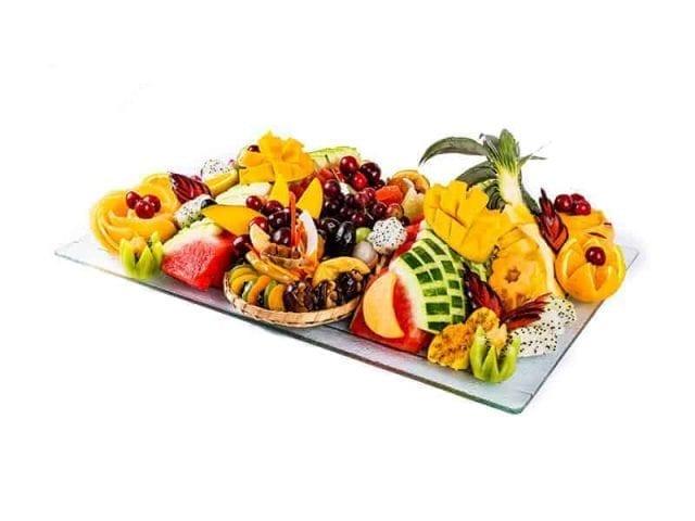 מגש פירות מלבן פרימיום 1
