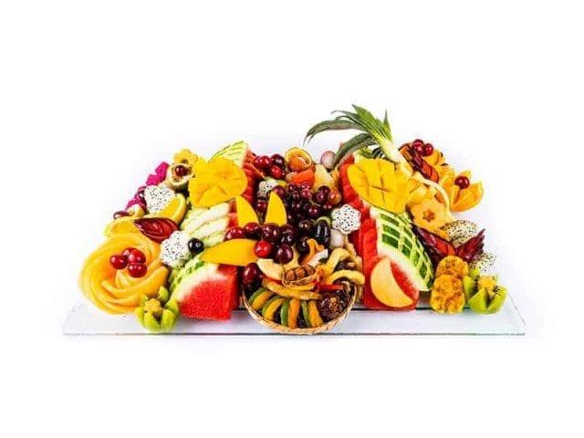 מגש פירות מלבן פרימיום 2