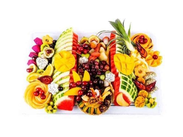 מגש פירות מלבן פרימיום 3