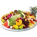 מגש פירות עגול פרימיום קטן 2
