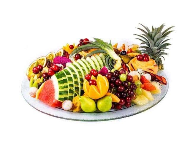 מגש פירות עגול פרימיום 2