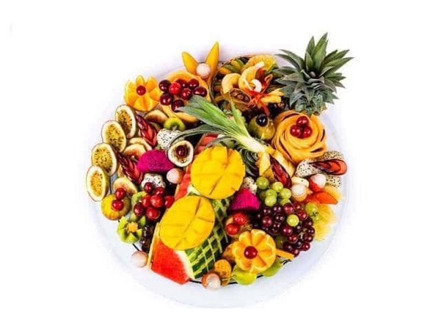 מגש פירות עגול פרימיום 3