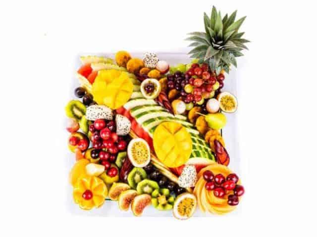 מגש פירות מרובע פרימיום 1