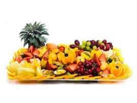 מגש פירות מלבני | מידה: L
