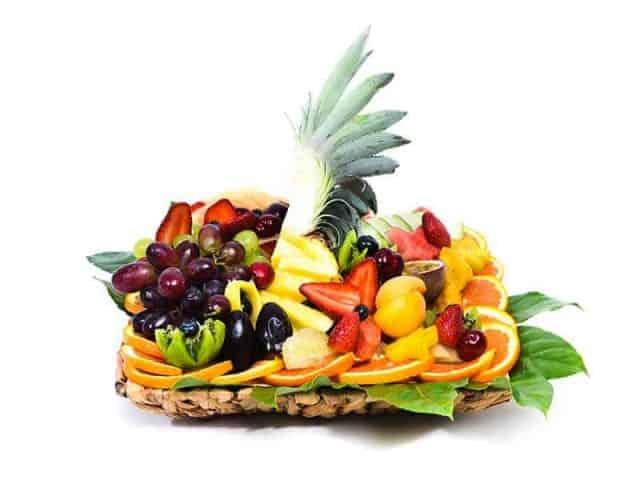 סלסלת פירות משולבת