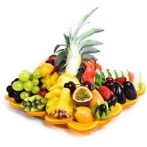 מגש פירות מרובע | מידה: S