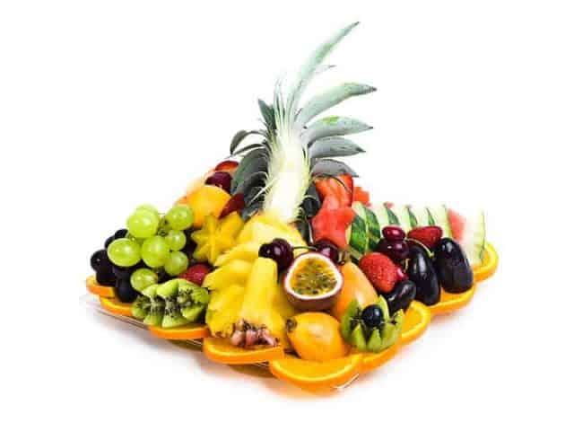 מגש פירות מרובע | מידה: XS
