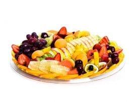 מגש פירות עגול | מידה: L
