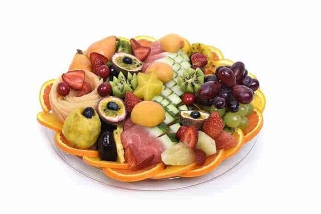 מגש פירות עגול | מידה: M קטן