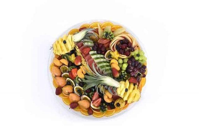 מגש פירות עגול | מידה: XL