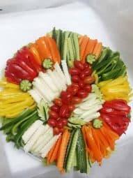 פלטת ירקות XL