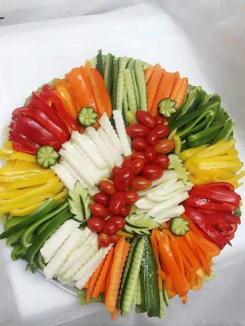פלטת ירקות XL קטן