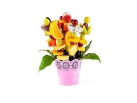 זר פירות - 6 שיפודים