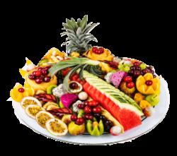 פלטות ומגשי פירות